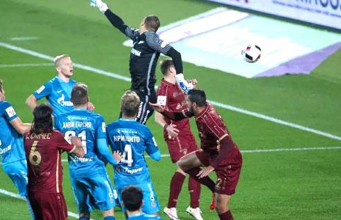 Прогноз на футбол Рубин – Зенит (РФПЛ, 02.04.2017)