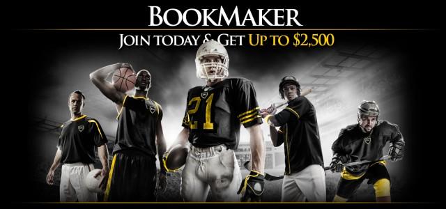 Получите 2500$, бесплатно от Bookmaker.eu