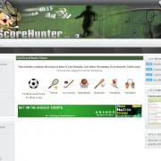 Обзор сайта livescorehunter.com