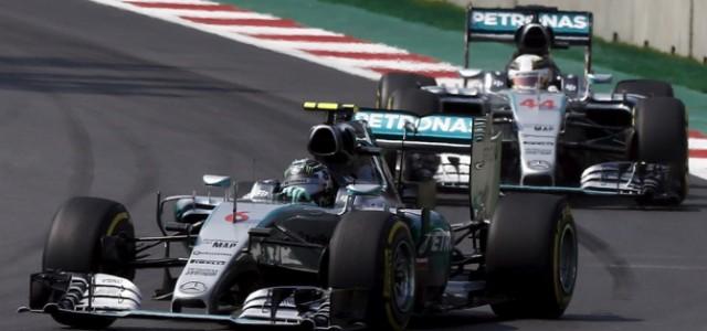 Росберг – победитель Гран-при в Мексике