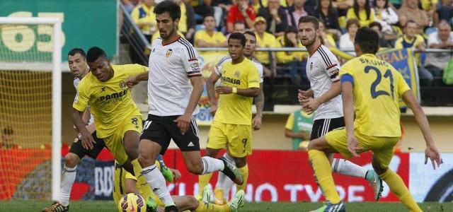 Прогноз. Футбол. Вильярреал – Валенсия. 31 декабря 2015