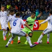 Динамо Киев проигрывает Манчестер Сити