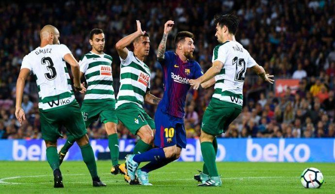 Прогноз на футбол Эйбар – Барселона (Ла Лига, 17.02.2018)