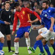 Прогноз на футбол Испания – Италия (ЧМ-2018, 02.09.2017)