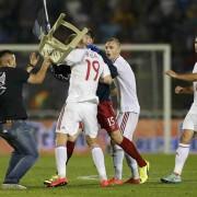Футбол. Албания – Сербия. 8 октября 2015