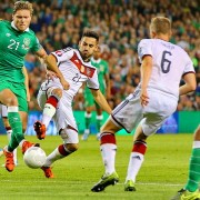 Германия попала под удар ирландцев