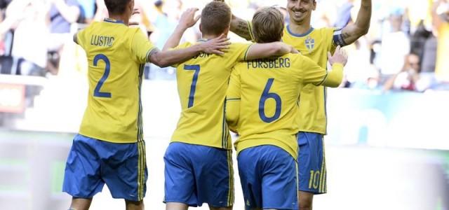 Прогноз на футбол Ирландия – Швеция, Евро-2016 (13.06.2016)