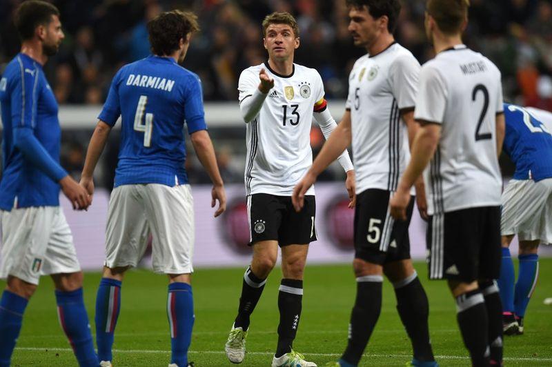 Прогноз на футбол ЧЕ-2016, Германия – Италия (02.07.2016)