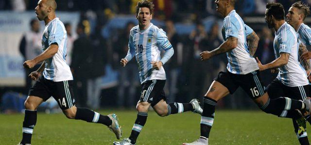Прогноз на футбол Аргентина — Колумбия (ЧМ-2018, 16.10.2016)