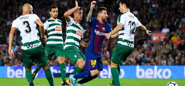 Прогноз на футбол Эйбар — Барселона (Ла Лига, 17.02.2018)