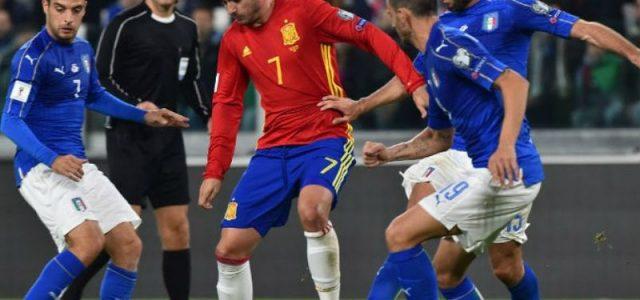 Прогноз на футбол Испания — Италия (ЧМ-2018, 02.09.2017)