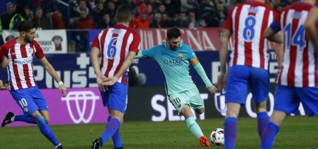 Прогноз на футбол Атлетико — Барселона (Ла Лига, 27.02.2017)