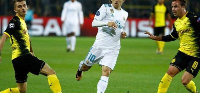 Прогноз на футбол Реал Мадрид – Боруссия Дортмунд (ЛЧ, 06.12.2017)