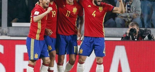 Прогноз на футбол Албания — Испания (ЧМ-2018, 09.10.2016)