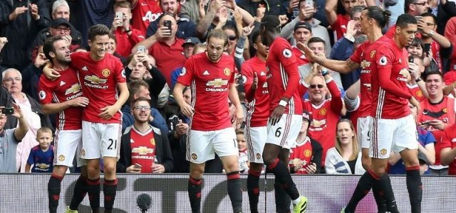Прогноз на футбол Манчестер Юнайтед — Заря (ЛЕ, 29.09.2016)